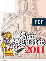 Programa Ferias Patronales en Honor a San Agustín. Guacara 2011
