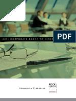 2011 Corporate Board Survey