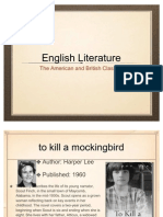 English Literature (Top Classics)