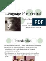 Lenguaje Pre Verbal