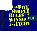 5 Simple Rules of Winning Any Fight