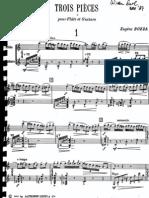 Bozza - 3 Pieces[for Flute & Guitar]