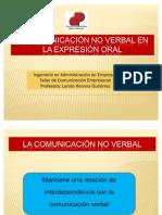 Comunicación no verbal y expresión oral97