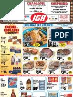 IGA Weekly Circular | August 22nd, 2011