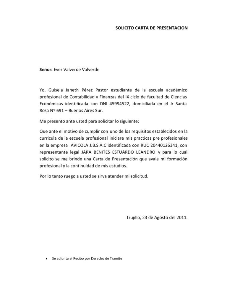 carta de presentacion - Etame.mibawa.co