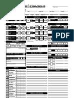 4E Character Sheet Automated