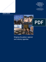 World Economic Forum - Annual Report 2004/2005