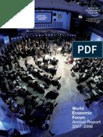 World Economic Forum - Annual Report 2007/2008