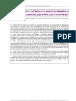 Informe sobre el recrecimiento del embalse de Yesa, 1999