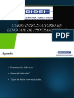 Curso Introduccion Lenguaje c Clase1