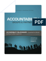 Accountability Groups & Partners Sample