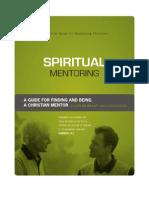 Spiritual Mentoring Sample
