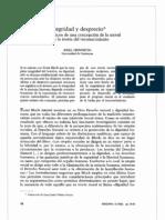 Integridad y Desprecio - Isegoría 5 (1992) 78 - 92