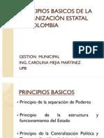 2. Principios Basicos de La Organizacion Estatal