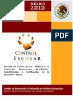 Norma Control Escolar 2010 2011 (1)