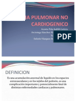 Edema Pulmonar No Cardiogenico