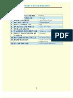1. Idioms & Fixed Phrases