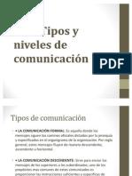 Tipos y Niveles de Comunicacion