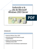 1.- Introduccion a La Familia de Microsoft Windows Server 2003
