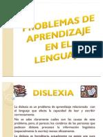 Problemas de Aprendizaje en El Lenguaje