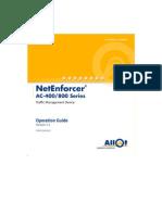 Net Enforcer Operation Guide v5.5