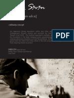 Twenty Seven Concept Portfolio