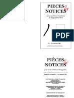Pièces et notices pour servir à l'histoire d'Angoulins (revue numérique de l'association Expression-Hist), n°1