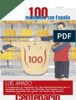Luis Amado 100 Veces Internacional