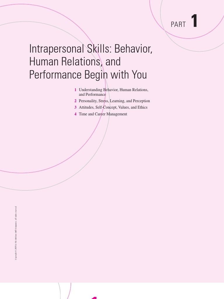 human relation skills