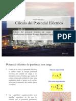 calculo potencial electrico
