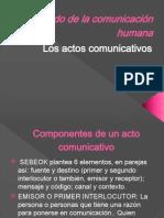 Componentes de Un Acto Comunicativo