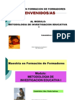 Presentacion Modulo Investigacion I [Modo de ad