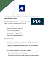 Acta Cef Extrordinario Nº15