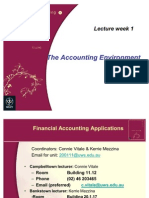 Lecture Week 1 the Accounting Environment0