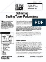 Optimizing Cooling Towers