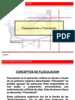 Clase 07 - Espesamiento y Floculación