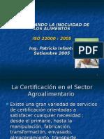 Foro taller 21-09-2005 ISO 22000