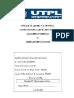 EVALUACION A DISTANCIA. UTPL 2011 Legislación y tecnologia