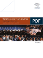World Economic Forum on Africa 2008