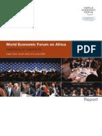 World Economic Forum on Africa 2008