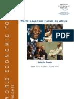 World Economic Forum on Africa 2006