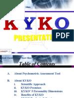 KYKO Presentation Slide