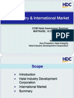 Halal Industry & International Market