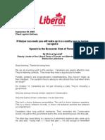 080929 Speech Ignatieff Economic Club En