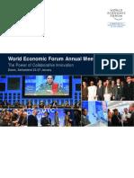 World Economic Forum Annual Meeting 2008