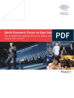 World Economic Forum on East Asia 2007