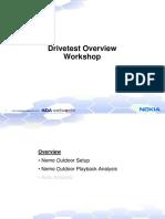 Drivetest Overview Workshop Best