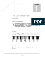 The Essentials of Piano Chords