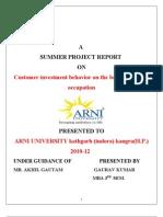 Gaurav Report