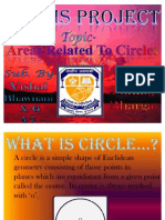 Areas Related to Circles